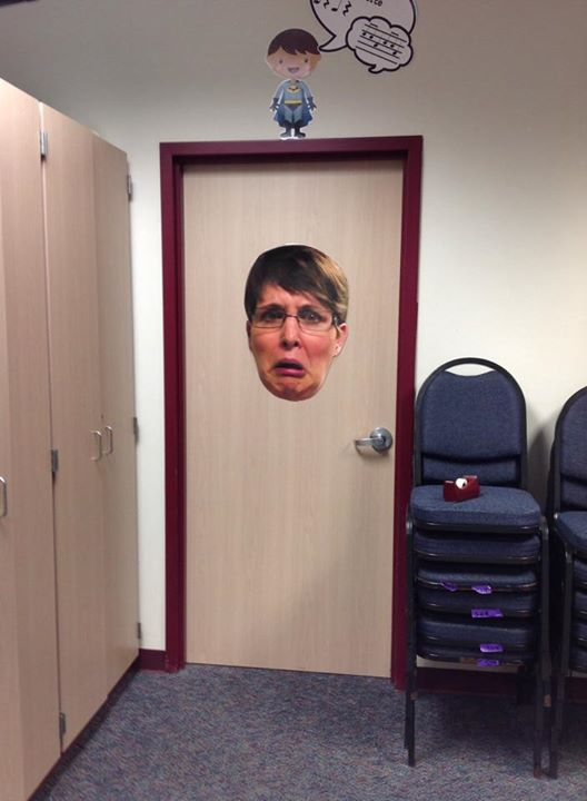 face door