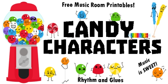 Candy Characters Download