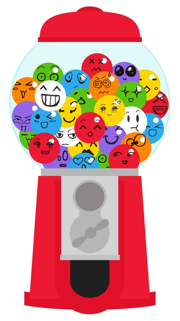 GumballMachine with faces