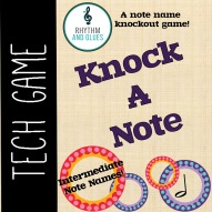 Cover Knock a Note - Intermediate Notes
